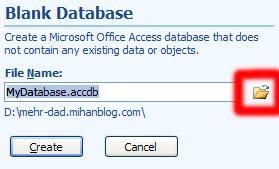 آدرس Database